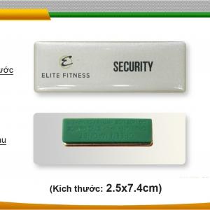 Thẻ nhựa PVC đeo ngực